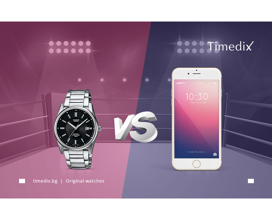 The war between the watch and the smartphone
