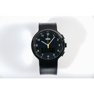 Braun Silikon - BN0159BKBKG Men's Watch