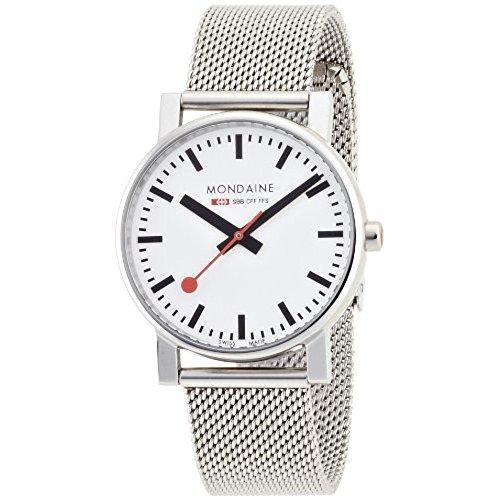 Mondaine Unisex A660.30314.11SBV Watch for Men and Women
