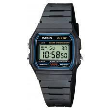 Casio Unisex F91W1YER Watch for Men and Women