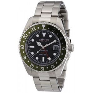 Nautec No Limit DS AT-GMT/STSTGRBK мъжки часовник