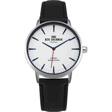 Ben Sherman Mens Analogue Classic Quartz Watch with Leather Strap WB020B