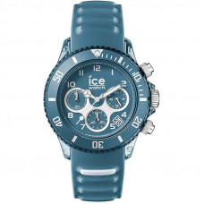 Ice-Watch - ICE aqua Bluestone - Men's wristwatch with silicon strap - Chrono - 001462 (Medium) - Мъжки часовник