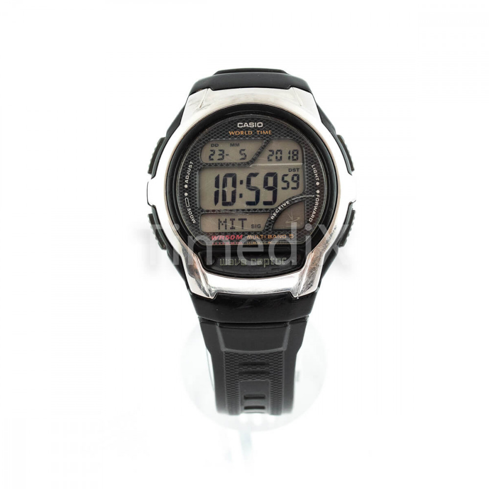 Casio Wave Ceptor Wv58e1avef - Men U0026 39 S Watches