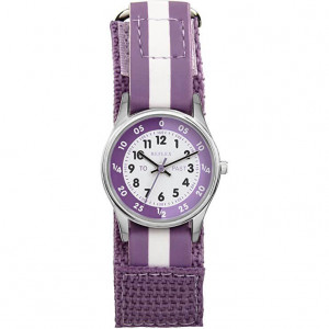 Reflex Girls Analogue Classic Quartz Watch with Textile Strap REFK0004 - Kid's watch