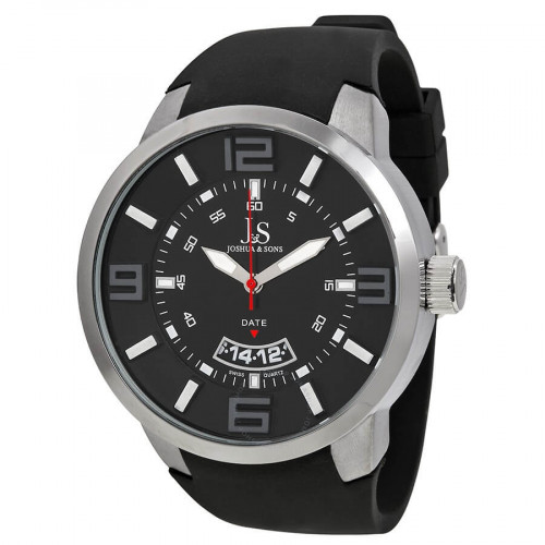 Joshua & Sons JS64BK Men's Watch