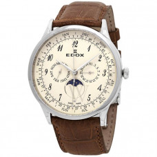 EDOX Les Vauberts 40101 3C BEBN Men's Watch